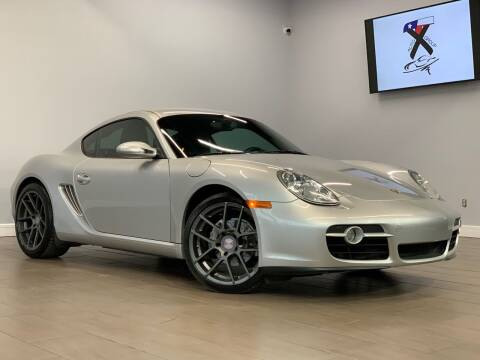 2007 Porsche Cayman for sale at TX Auto Group in Houston TX