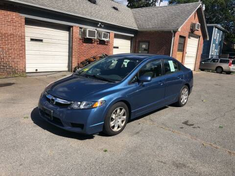 2010 Honda Civic for sale at Emory Street Auto Sales and Service in Attleboro MA