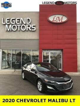 2020 Chevrolet Malibu for sale at Legend Motors of Ferndale in Ferndale MI