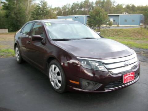 2011 Ford Fusion for sale at Lloyds Auto Sales & SVC in Sanford ME