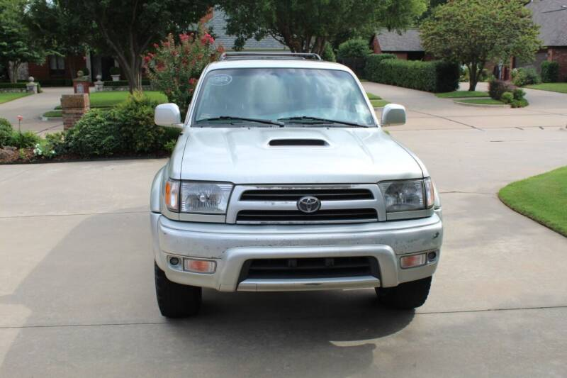 2000 Toyota 4Runner for sale at CANTWEIGHT CLASSICS in Maysville OK