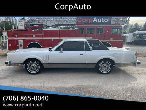 1983 Lincoln Mark VI for sale at CorpAuto in Cleveland GA