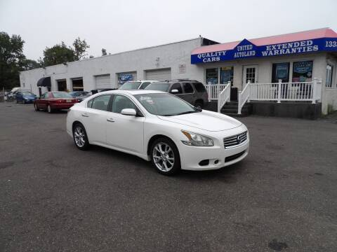 2012 Nissan Maxima for sale at United Auto Land in Woodbury NJ