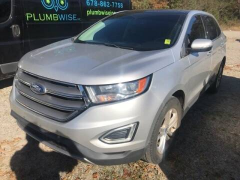 2015 Ford Edge for sale at BILLY HOWELL FORD LINCOLN in Cumming GA