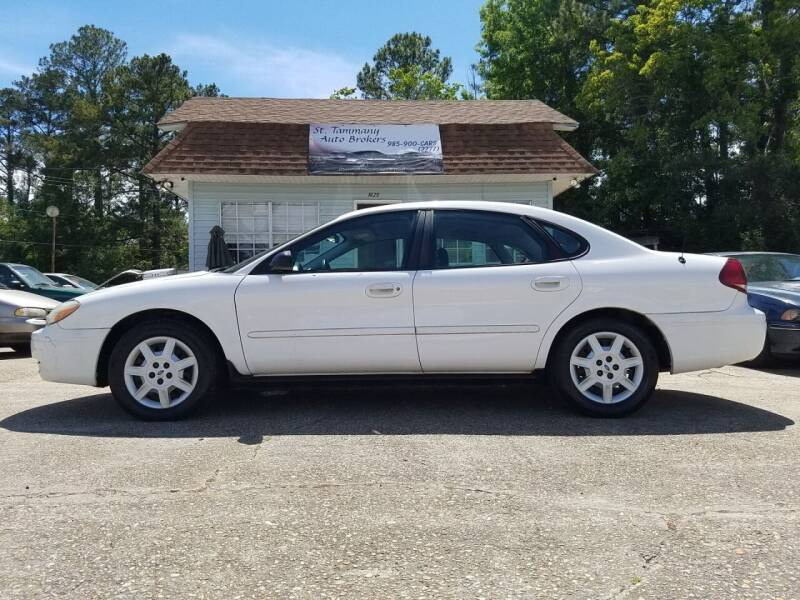 2006 Ford Taurus for sale at St. Tammany Auto Brokers in Slidell LA