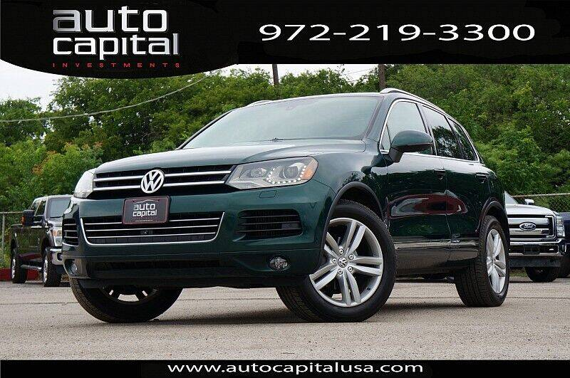 2014 Volkswagen Touareg for sale in Fort Worth, TX