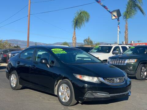 2013 Honda Civic for sale at Esquivel Auto Depot in Rialto CA