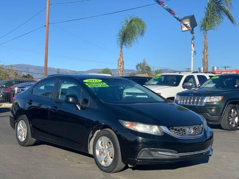 2013 Honda Civic for sale at Esquivel Auto Depot in Rialto CA
