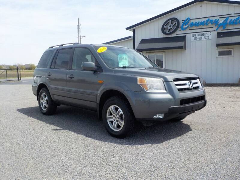 2008 Honda Pilot for sale at Country Auto in Huntsville OH