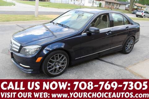 2011 Mercedes-Benz C-Class for sale at Your Choice Autos in Posen IL