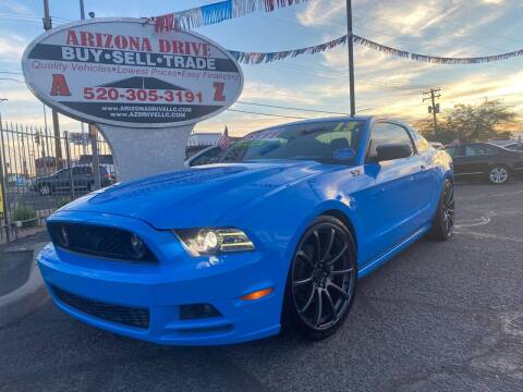 2013 Ford Mustang for sale at Arizona Drive LLC in Tucson AZ