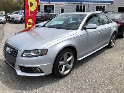 2012 Audi A4 for sale at Top Line Import of Methuen in Methuen MA