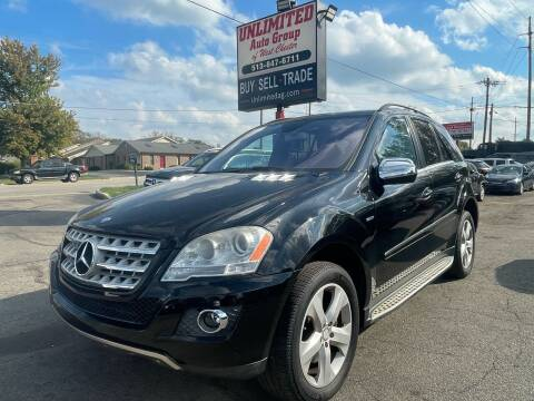 2010 Mercedes-Benz M-Class for sale at Unlimited Auto Group in West Chester OH