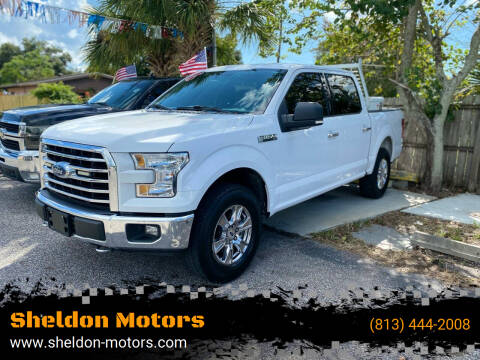 2017 Ford F-150 for sale at Sheldon Motors in Tampa FL