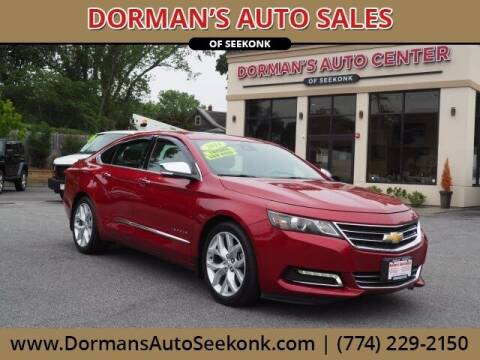 2014 Chevrolet Impala for sale at DORMANS AUTO CENTER OF SEEKONK in Seekonk MA