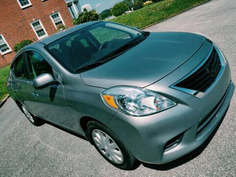 2012 Nissan Versa for sale at Auto Titan - BUY HERE PAY HERE in Knoxville TN