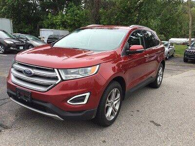 2016 Ford Edge for sale at Metro West Auto in Bellingham MA