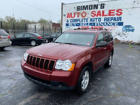2009 Jeep Grand Cherokee for sale at Simon's Auto Sales in Detroit MI