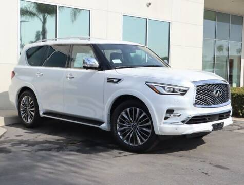 2021 Infiniti QX80 for sale at ORANGE COAST CARS in Westminster CA