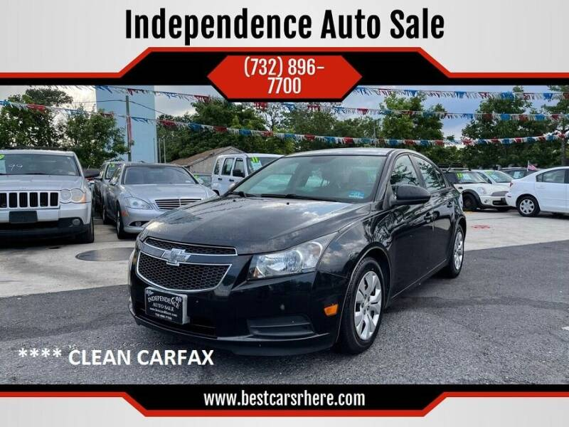 2014 Chevrolet Cruze for sale at Independence Auto Sale in Bordentown NJ