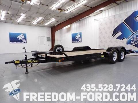 2021 Utility Trailer Big Tex 70CH - 18BK for sale at Freedom Ford Inc in Gunnison UT