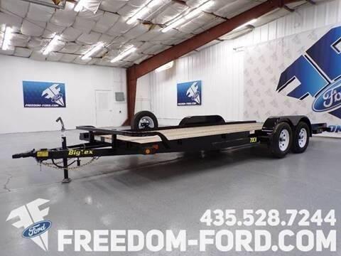 2021 Utility Trailer Big Tex 70CH - 20BK for sale at Freedom Ford Inc in Gunnison UT
