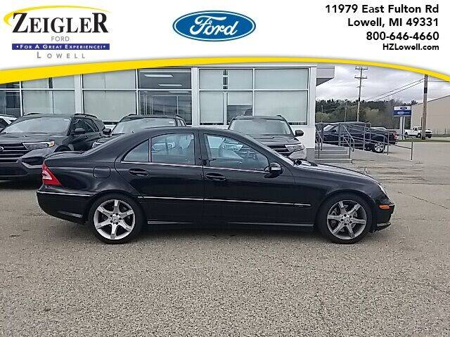 2007 Mercedes-Benz C-Class for sale at Zeigler Ford of Plainwell- Jeff Bishop in Plainwell MI