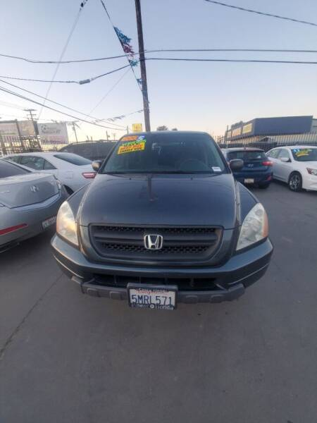 2005 Honda Pilot for sale at Affordable Auto Finance in Modesto CA