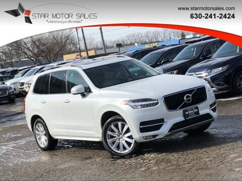 2018 Volvo XC90 for sale at Star Motor Sales in Downers Grove IL