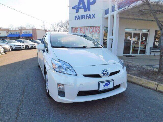 2011 Toyota Prius for sale at AP Fairfax in Fairfax VA