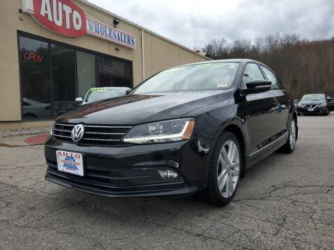 2017 Volkswagen Jetta for sale at Auto Wholesalers Of Hooksett in Hooksett NH