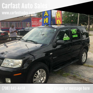 2005 Mercury Mariner for sale at Carfast Auto Sales in Dolton IL