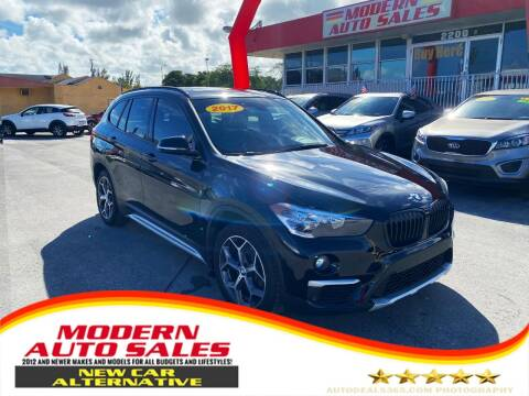 2017 BMW X1 for sale at Modern Auto Sales in Hollywood FL
