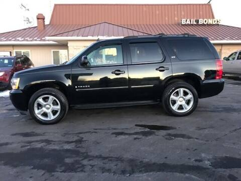 2007 Chevrolet Tahoe for sale at Motors Inc in Mason MI
