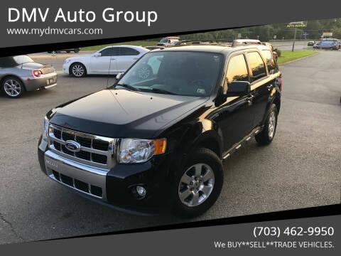 2012 Ford Escape for sale at DMV Auto Group in Falls Church VA