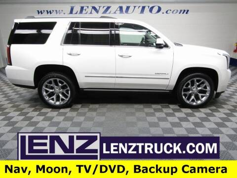 2020 GMC Yukon for sale at LENZ TRUCK CENTER in Fond Du Lac WI