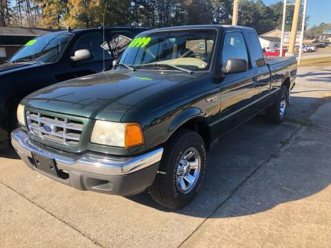 2003 Ford Ranger for sale at E Motors LLC in Anderson SC