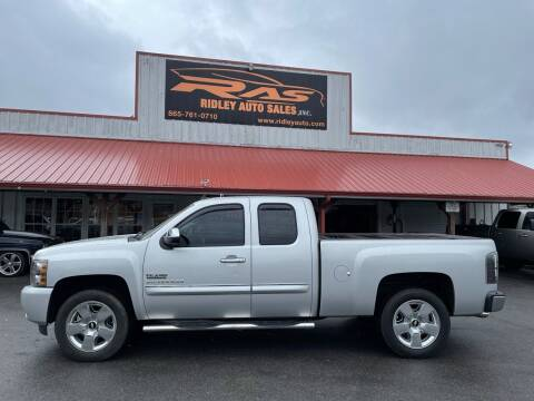 2010 Chevrolet Silverado 1500 for sale at Ridley Auto Sales, Inc. in White Pine TN