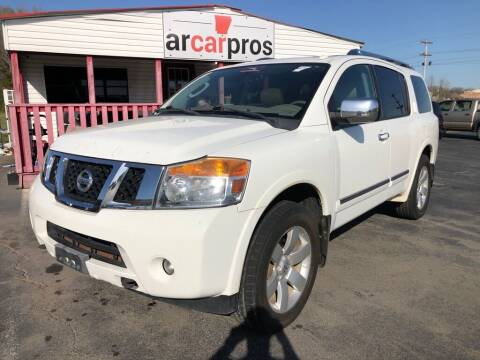 2011 Nissan Armada for sale at Arkansas Car Pros in Cabot AR