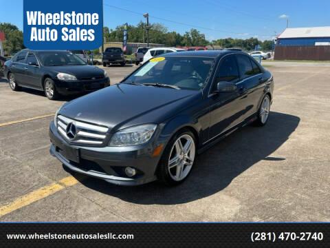 2010 Mercedes-Benz C-Class for sale at Wheelstone Auto Sales in La Porte TX