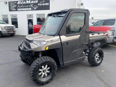 2018 Polaris Ranger for sale at BISMAN AUTOWORX INC in Bismarck ND