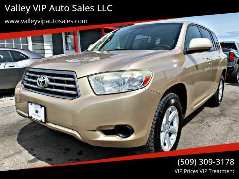 2008 Toyota Highlander for sale at Valley VIP Auto Sales LLC in Spokane Valley WA