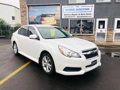 2013 Subaru Legacy for sale at The Subie Doctor in Denver CO