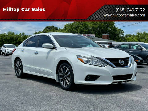 2016 Nissan Altima for sale at Hilltop Car Sales in Knox TN