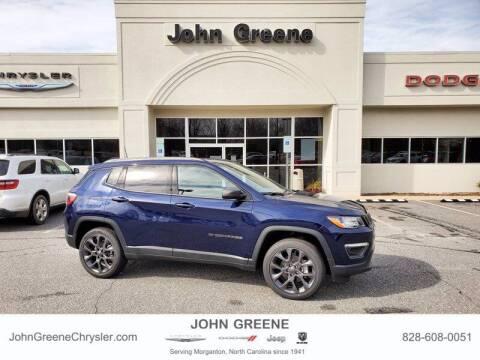 2021 Jeep Compass for sale at John Greene Chrysler Dodge Jeep Ram in Morganton NC