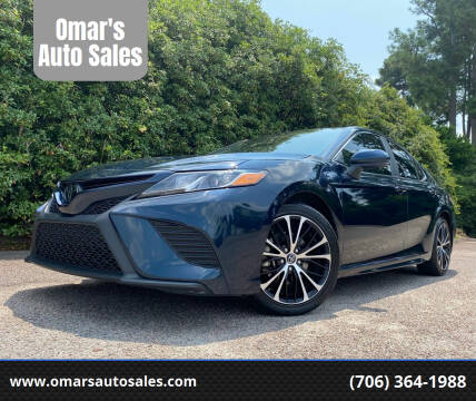 2019 Toyota Camry for sale at Omar's Auto Sales in Martinez GA