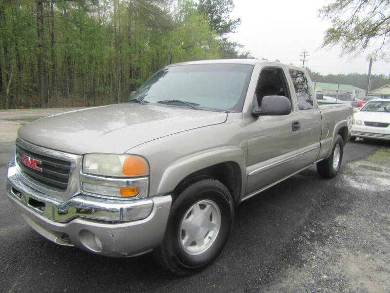 2003 GMC Sierra 1500 for sale at Bullet Motors Charleston Area in Summerville SC