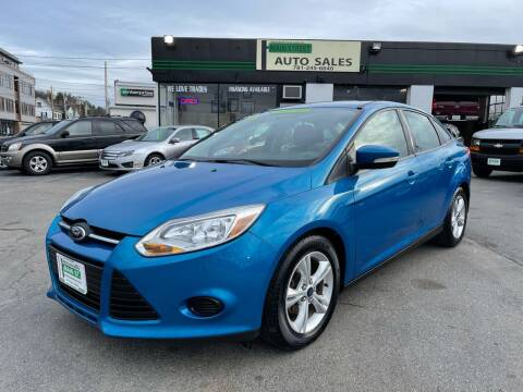 2014 Ford Focus for sale at Wakefield Auto Sales of Main Street Inc. in Wakefield MA
