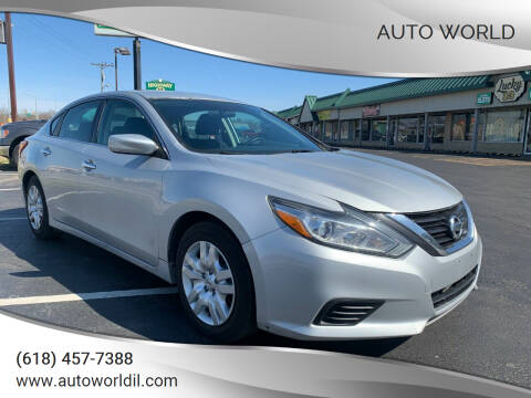 2017 Nissan Altima for sale at Auto World in Carbondale IL