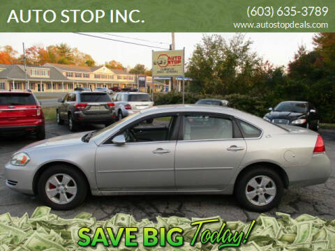 2007 Chevrolet Impala for sale at AUTO STOP INC. in Pelham NH